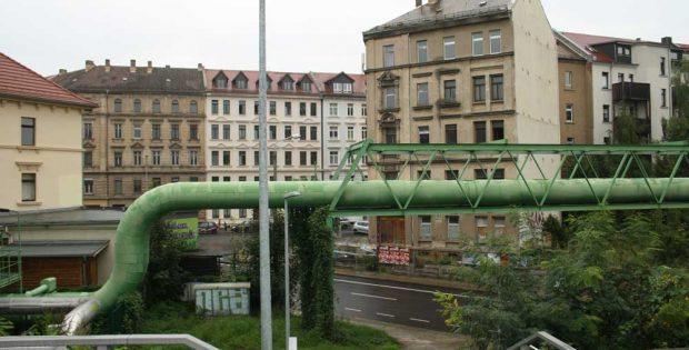 S-Bahn-Station Anger-Crottendorf: Hier könnte ein direkter Straßenbahnanschluss hin. Foto: Ralf Julke