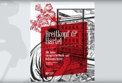 Thomas Frenzel (Hrsg.): 300 Jahre europäische Musik- und Kulturgeschichte. Cover: Breitkopf & Härtel