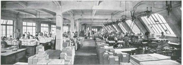 Die einstige Buchbinderei von Breitkopf & Härtel. Foto: Breitkopf & Härtel