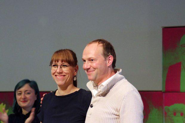 Katja Meier und Wolfram Günther. Foto: L-IZ.de