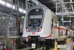 Intercity 2 im Leipziger ICE-Werk. Foto: DB AG