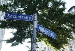 Kochstraße / Ecke Arndtstraße. Foto: Ralf Julke