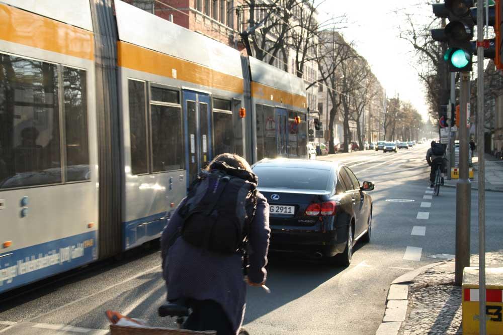 Käthe-Kollwitz-Straße, Ecke Marschnerstraße. Foto: Ralf Julke