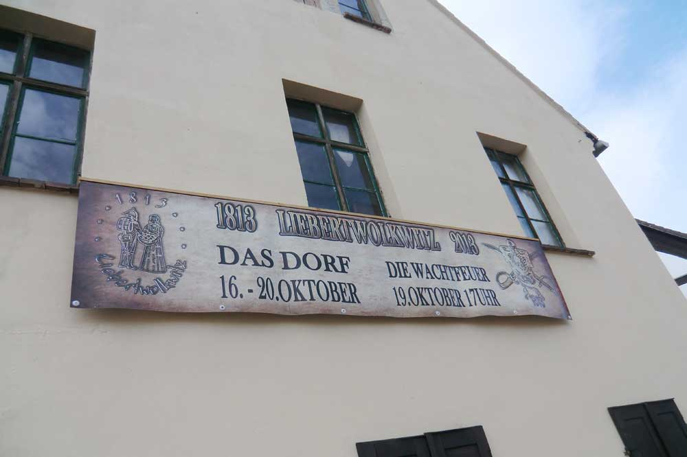 Jeden Oktober lädt die Erinnerung an 1813 ein zur Fahrt nach Liebertwolkwitz. Foto: Marko Hofmann
