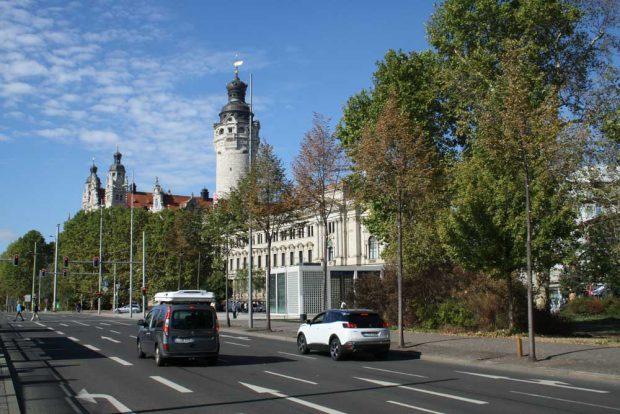 Ein Stück Ring am Wilhelm-Leushner-Platz. Foto: Ralf Julke