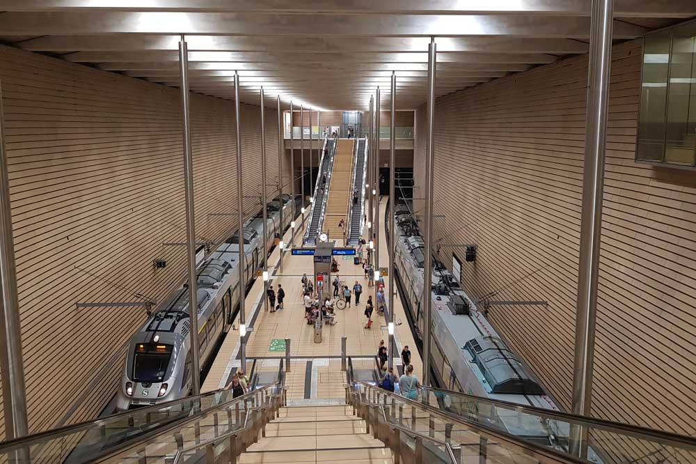 S-Bahn-Station Markt. Foto: Marko Hofmann