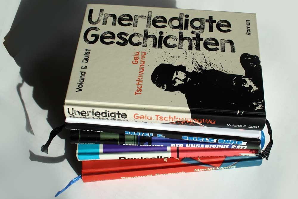 """Titel aus der Reihe """"sonar"""" von Voland & Quist. Foto: Ralf Julke"""