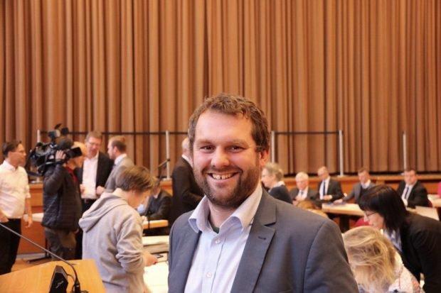 Christopher Zenker, SPD heute für den Klimanotstand, aber gegen das Wort selbst. Foto: Michael Freitag