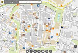 Der digitale Stadtplan der Stadt Leipzig. Screenshot: L-IZ