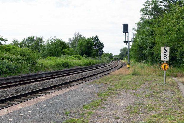 Auch der Haltepunkt Engelsdorf / Werkstättenstraße wird ausgebaut. Foto: Deutsche Bahn