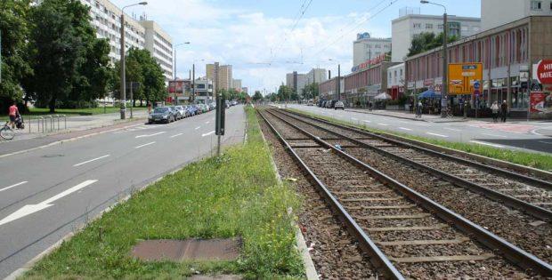 Windmühlenstraße Richtung Bayerischer Platz. Foto: Ralf Julke
