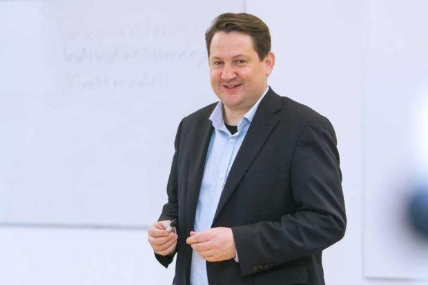 Dr. Alexander Yendell. Foto: Swen Reichhold/Universität Leipzig