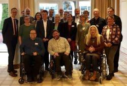 Die Beauftragten des Bundes und der Länder für die Belange von Menschen mit Behinderungen beim 58. Treffen in Bad Gögging. © Büro des Beauftragten der Bayerischen Staatsregierung für die Belange von Menschen mit Behinderung