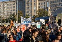 Auch beim weltweiten Klimastreik am 20. September war der NABU Sachsen dabei und marschierte mit über den Innenstadtring. Foto: Uwe Schroeder
