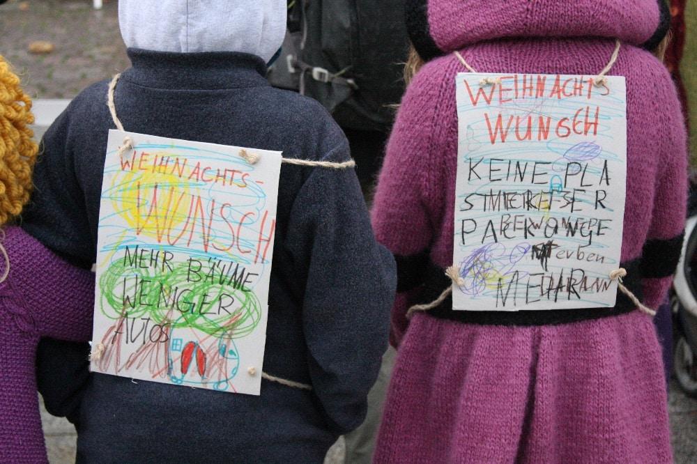Demonstrieren für die Zukunft. Fridays for Future-Demo am 29.11.2019. Foto: L-IZ.de