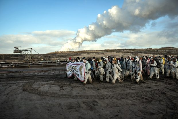 Kohleromantik bei Neukieritzsch im MIBRAG-Tagebau Peres. Foto: Tim Wagner