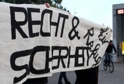 Foto von der Kundgebung am 7. Oktober. Quelle: Protest LEJ
