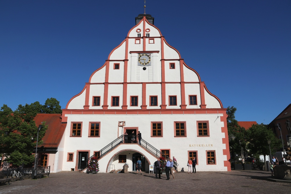 Das Rathaus in Grimma. Foto: L-IZ.de
