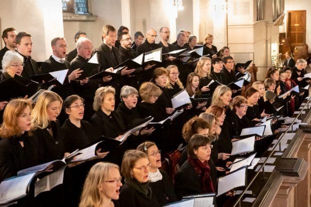 Kantorei der Singschule St. Thomas. Quelle: Ev.-Luth. Kirchgemeinde St. Thomas