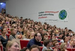 Die Klimastreikwoche soll mit einer studentischen Vollversammlung beginnen. Foto: Tobias Möritz