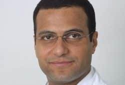 PD Dr. Mohamed Ghanem ist Geschäftsführender Oberarzt der Klinik und Poliklinik für Orthopädie, Unfallchirurgie und Plastische Chirurgie. Foto: Stefan Straube / UKL