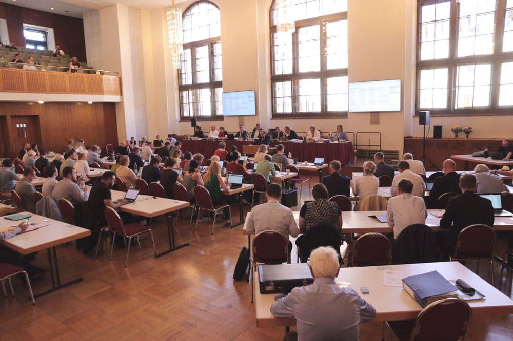 Der Stadtrat tagt. Foto: L-IZ.de