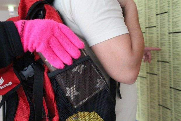 Taschendiebstahl Bild: Bundespolizei Leipzig
