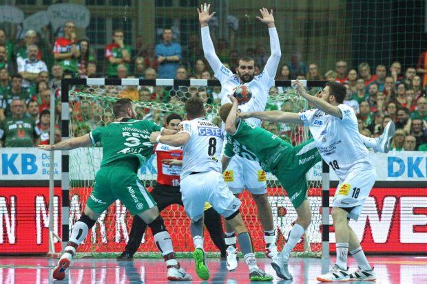 Bittere Niederlage für den SC DHfK in einem Spiel, das keinen Verlierer verdient hatte. Foto: Jan Kaefer