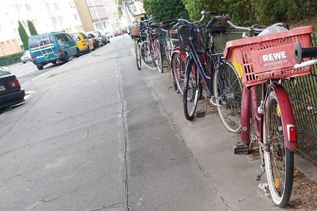 Ruhender Verkehr. Foto: Marko Hofmann