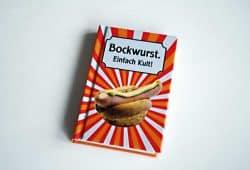 Herbert Frauenberger: Bockwurst. Einfach Kult! Foto: Ralf Julke