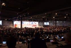 Bundesparteitag der CDU in Leipzig. Foto: L-IZ.de