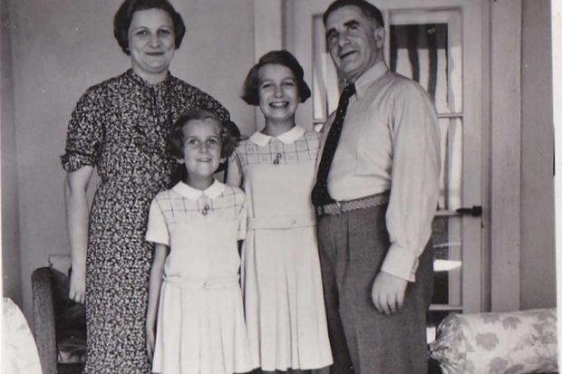 Familie Sonder (Fockestraße 8b) im Jahr 1934. Foto: privat