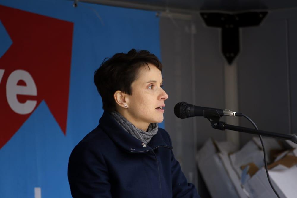 Frauke Petry. Foto: L-IZ.de