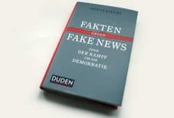 Patrick Gensing: Fakten gegen Fake News. Foto: Ralf Julke