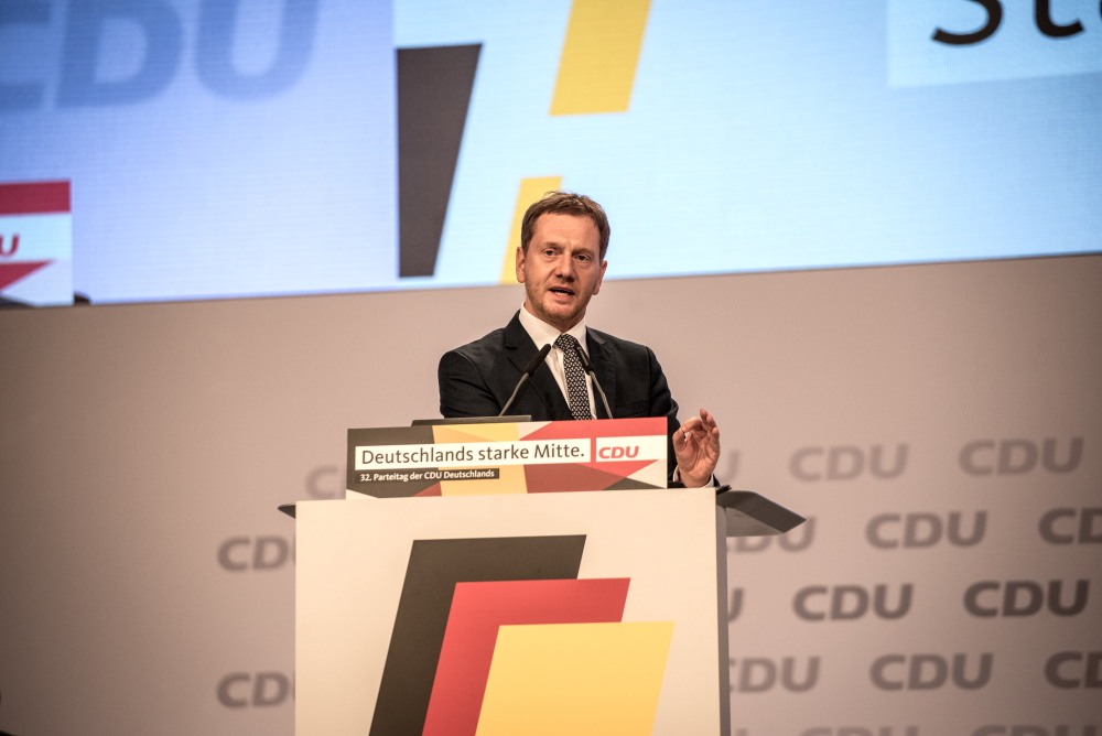 Sachsens Ministerpräsident Michael Kretschmer. Foto: Tim Wagner