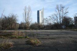 Blick auf den Nordteil des Geländes Richtung Rossplatz. Foto: Ralf Julke