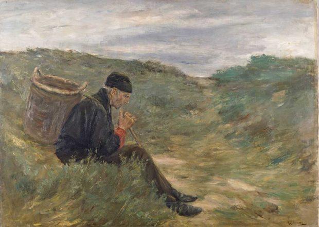 Max Liebermann: Rast in den Dünen, 1896. Foto: MdbK