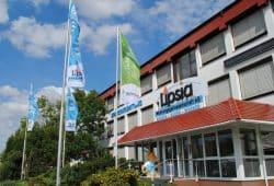Lipsia-Geschäftsgebäude in Leipzig. Foto: Lipsia