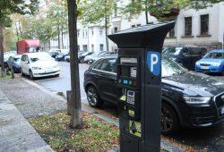 Parkscheinautomat im Waldstraßenviertel. Foto: Ralf Julke