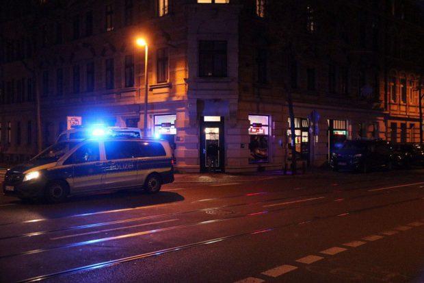 Die Seitenstraßen wurden abgesperrt. Foto: L-IZ.de