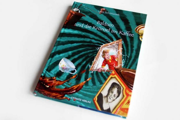 Uwe Schimunek: Balduin und die Krümel im Kaffee. Foto: Ralf Julke