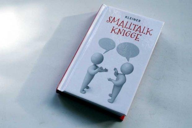 Katharina Kleinschmidt: Kleiner Smalltalk Knigge. Foto: Ralf Julke