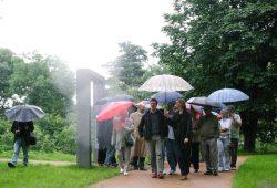 Eröffnung des Nordteils des Parks am Wasserschloss 2004. Archivfoto: Ralf Julke