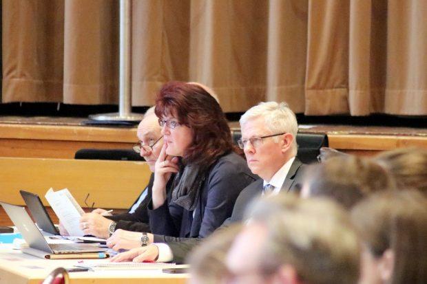 AfD-Fraktion im Leipziger Stadtrat: Gert Pasemann (li), Sylvia Deubel und Roland Ulbrich. Foto: Michael Freitag