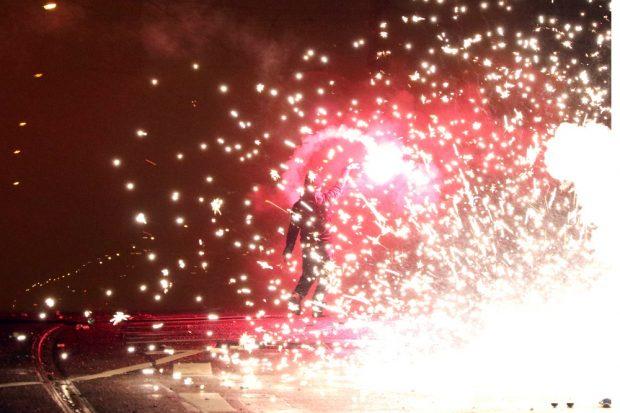 Berichten, wenn alle anderen Silvester feiern: Foto: Michael Freitag
