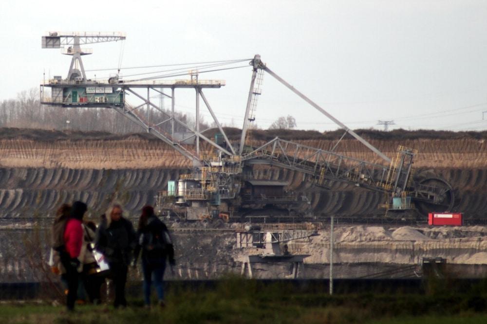 Der Tagebau Peres im MIBRAG-Braunkohlerevier. Foto: Michael Freitag