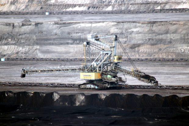 Kohlerevier Vereinigtes Schleenhain Tagebau Peres. Foto: Michael Freitag