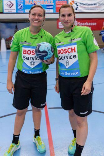 Beide wechselten 2018 zum SC DHfK. Foto: Thomas Strieter