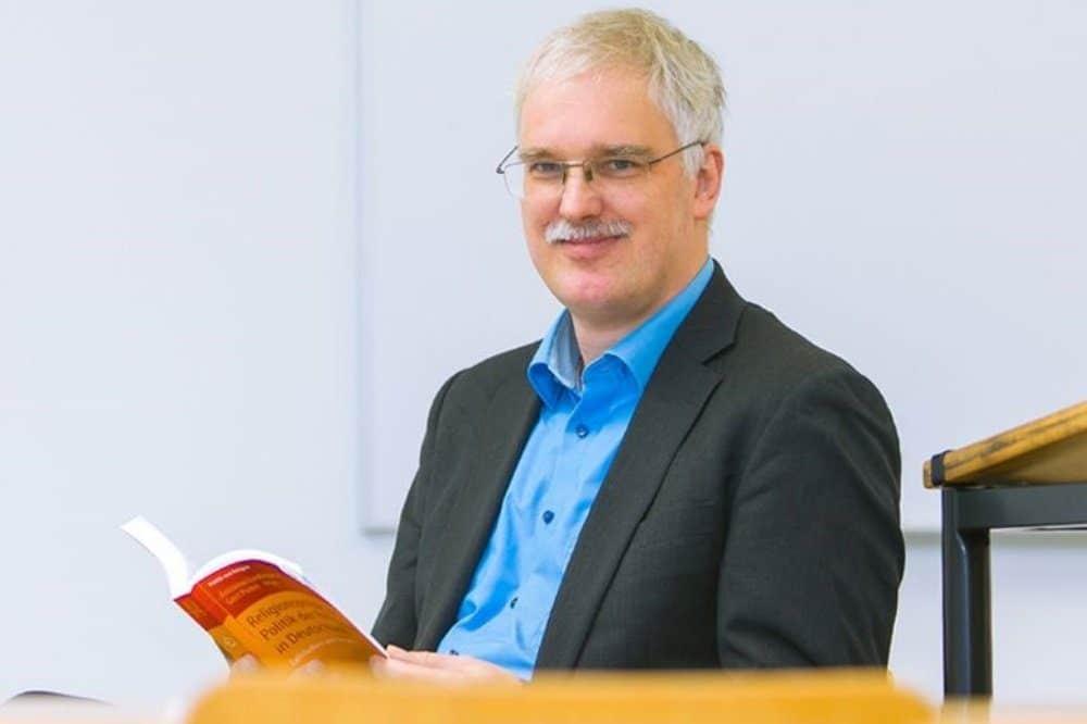 Prof. Dr. Gert Pickel. Foto: Universität Leipzig/Swen Reichhold