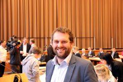 Stadtrat und Fraktionsführer der Leipziger SPD-Fraktion, Christopher Zenker. Foto: Michael Freitag